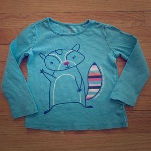 GAP 4T playtime favorites long sleeve t-shirt